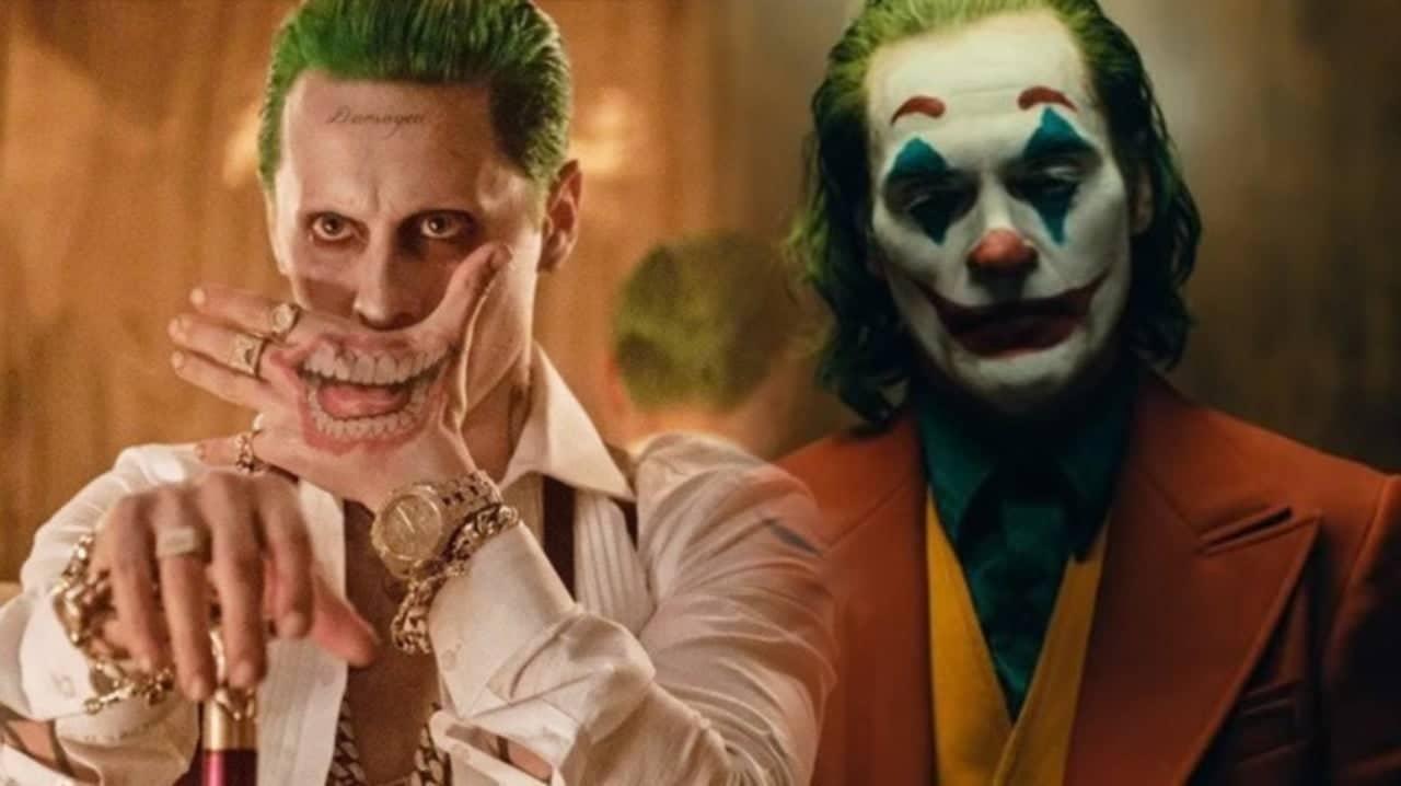 Jared Leto and Jaoquin Phoenix as Joker