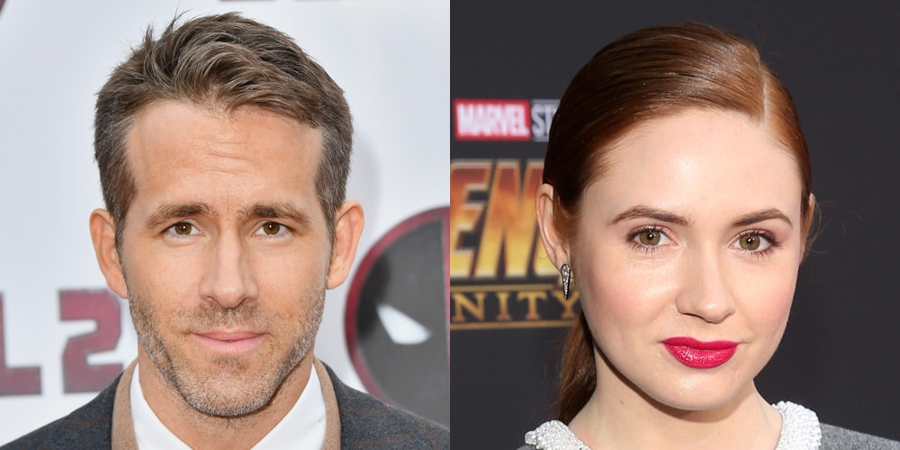 Actress Karen Gillan sets Fire to the Spider-man toy to get Revenge against Ryan Reynolds