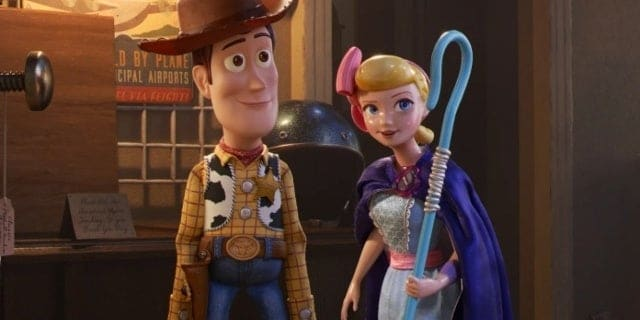 Woody and his friend, Bo Peep