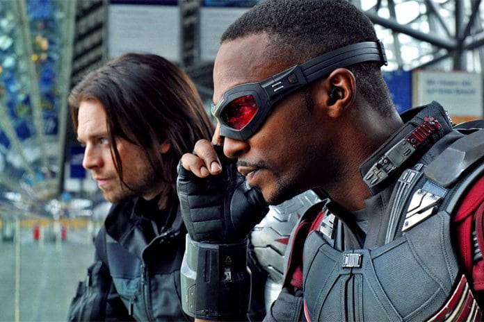 Anthony Mackie and Sebastian Stan give fans first look at Falcon and The Winter Soldier. Pic courtesy: filmgoblin.com