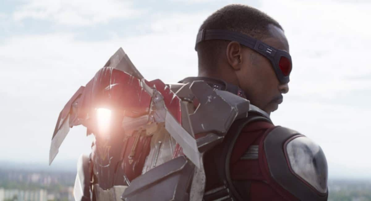 Anthony Mackie shares the first day of shooting Falcon and Winter Soldier.