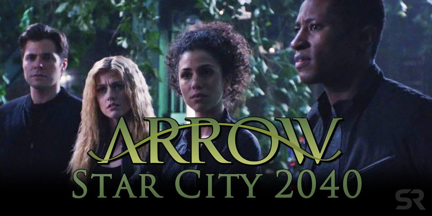 "Flight to future for 'Arrow' fans – "" Green Arrow and the Canaries "" prepared to set in 2040."