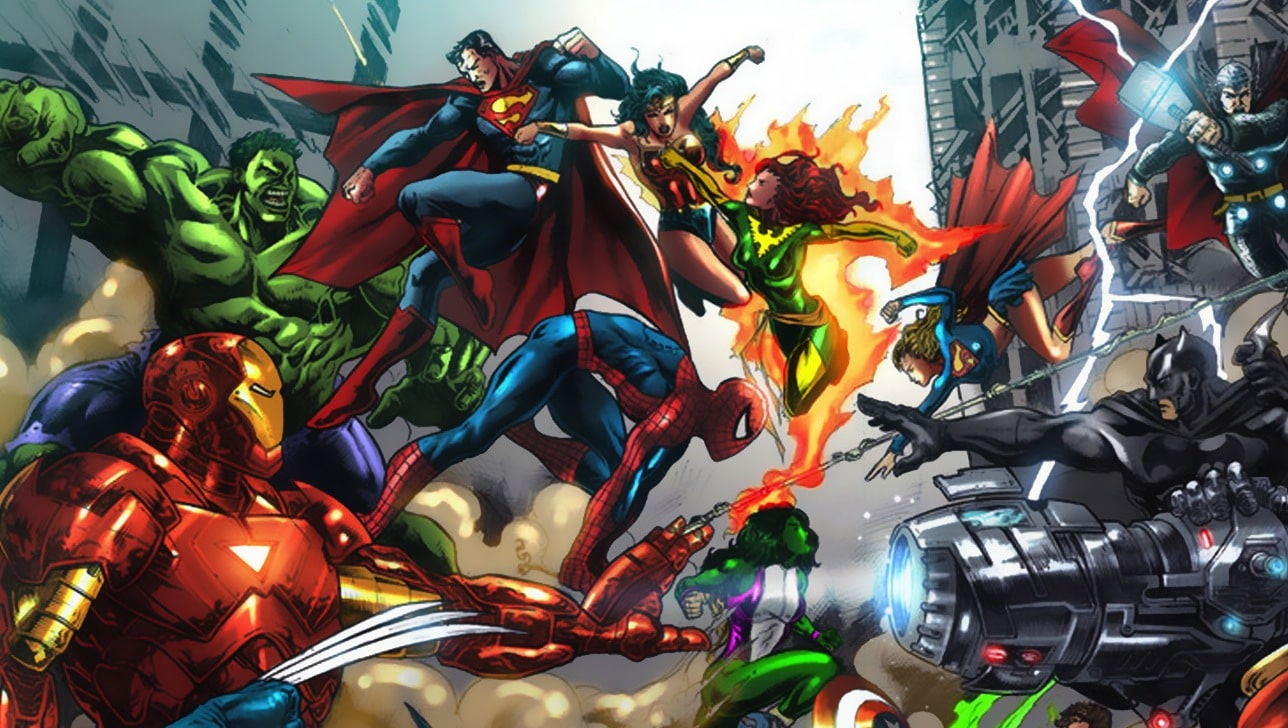 James Gunn Says A Marvel-D.C Crossover possible