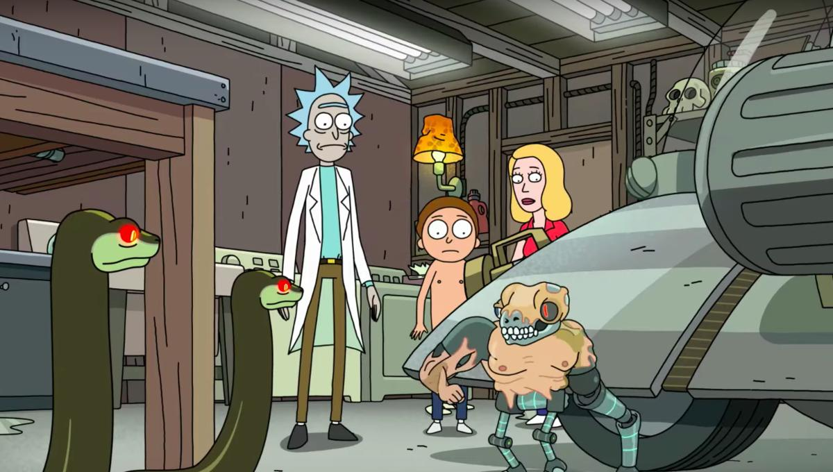 Rick and Morty season 4 post credit scene