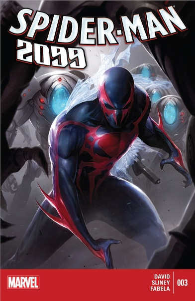 Spider-Man 2099 cover art. Pic courtesy: marvel.fandom.com
