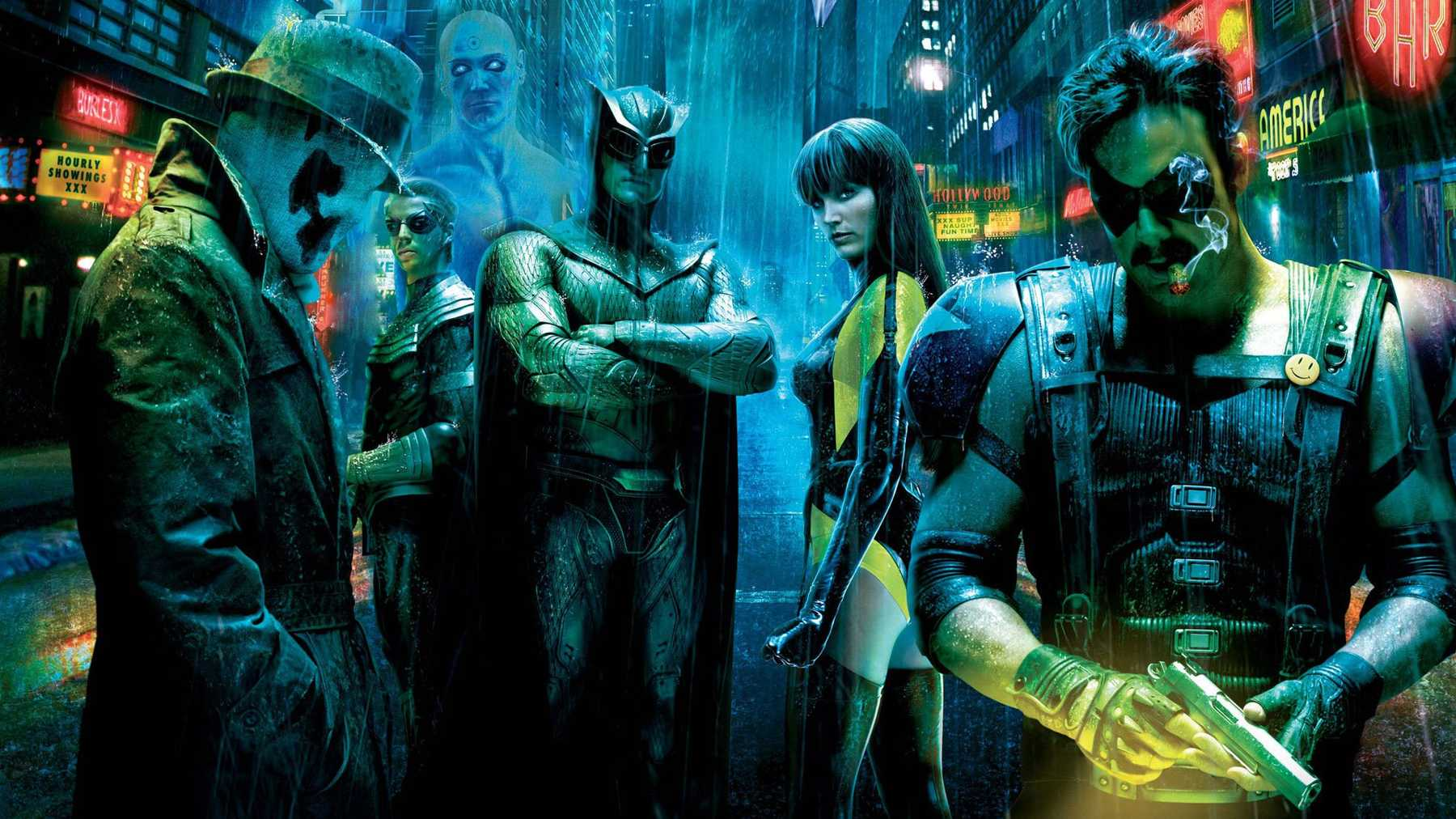 Watchmen streaming on HBO
