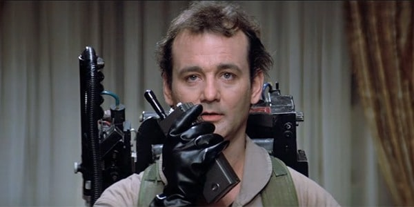 Bill Murray in Ghostbusters(1984).Pic courtest: CBR.com
