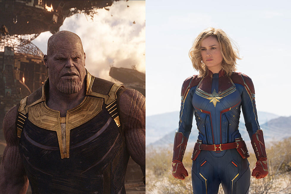 Captain Marvel and Thanos Fight in the Avengers: Endgame was Last Second Rewrite