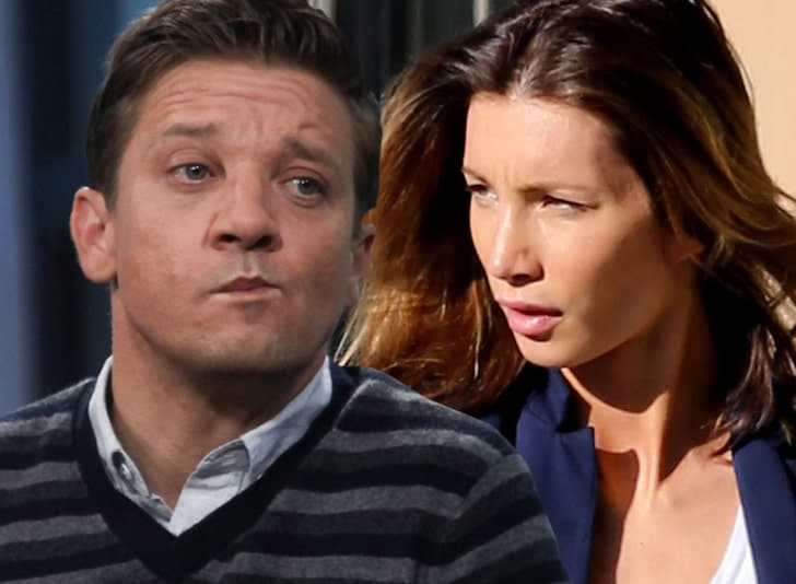 Jeremy Renner's ex-wife accuses him of abusing their daughter. Pic courtesy: tmz.com