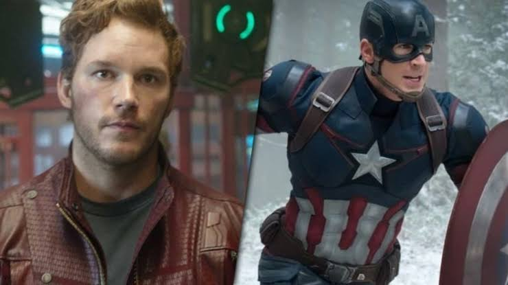 Chris Pratt for the role of Captain America