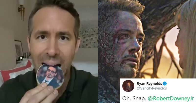 Robert Downey Jr. And Ryan Reynolds In A Instagram Trash Talk (Image- MensXP)