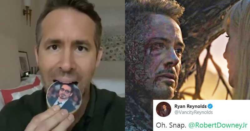 Robert Downey Jr. And Ryan Reynolds In A Instagram Trash Talk (Image- MensXP)