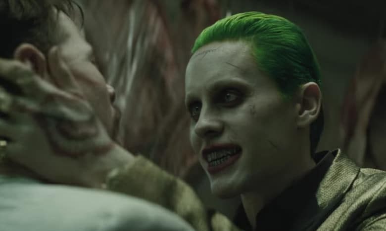 Jared Leto As Joker: A Scene From Suicide Squad Movie