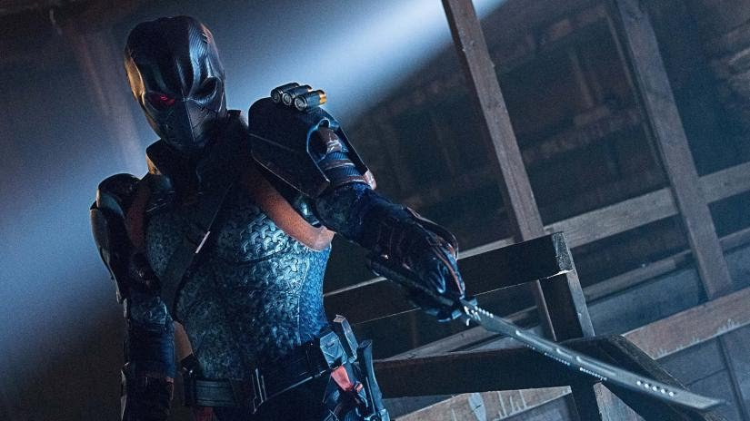 Deathstroke's history with the team will slowly be revealed. Pic courtesy: denofgeek.com