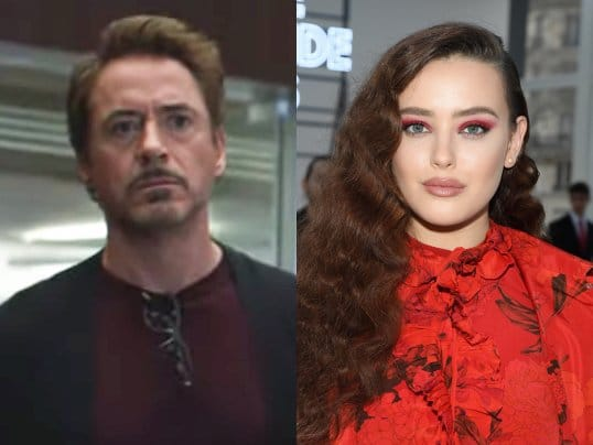 Katherine Langford is seen as Adult Morgan Stark in a deleted from Avengers: Endgame.Pic courtesy: Insider