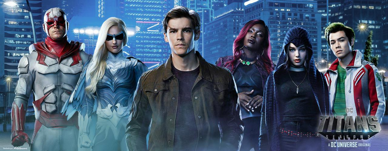 Leaked Titans Images Show Nightwing and Starfire Costumes Debuting Last Year