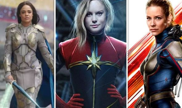 Captain Marvel was supposed to be saved by the other female Avengers. Pic courtesy: express.co.uk