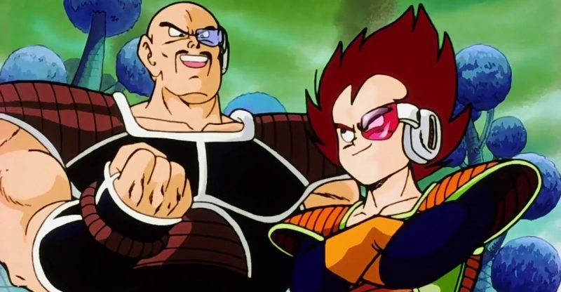 Dragon Ball Dwayne Johnson and Kevin Hart As Live-Action Nappa and Vegeta