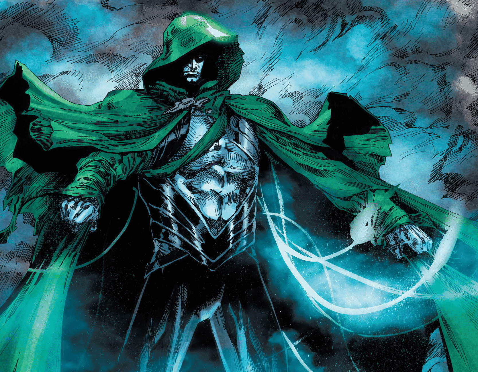 Jim Corrigan is going to hand over The Spectre mantle to the Green Arrow, Oliver Queen. Pic courtesy: ign.com