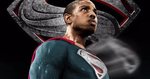 Not gonna lie, we would love to see Jordan suit up as the man of steel. But does he want to do that? Pic courtesy: movieweb.com