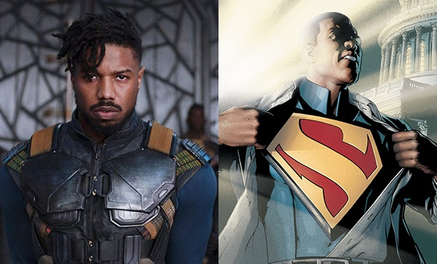 Michael B. Jordan did meet with Warner Bros for the role. Pic courtesy: heroichollywood.com