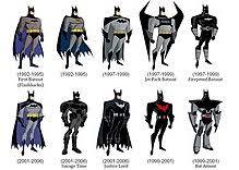 The Batsuit Evolution