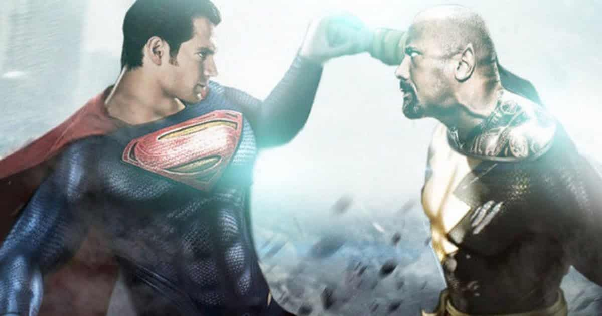 Superman and Black Adam will brawl in Black Adam 2. Pic courtesy: cosmicbooknews.com