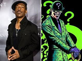Eddie Murphy as the Riddler- was there any truth to this rumour? Pic courtesy: ew.com