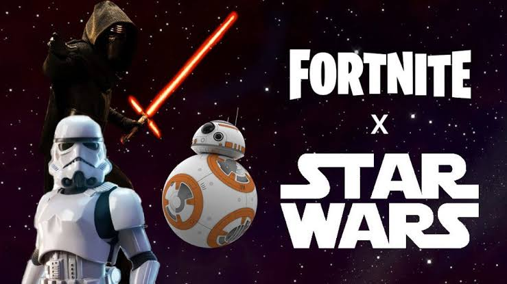 Fortnite and Starwars: An Epic Crossover