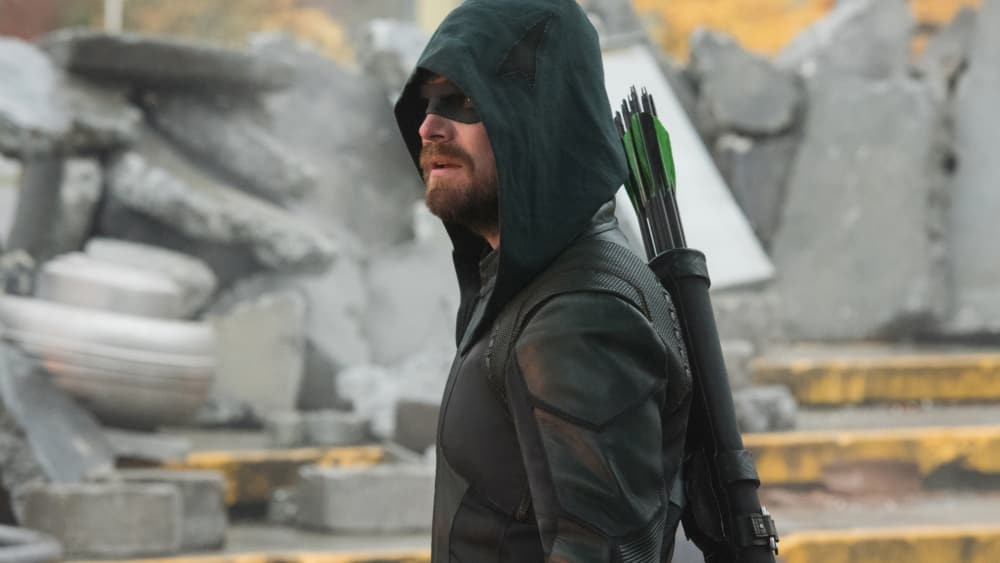Oliver Queen laid his life to save a billion people on earth 38. Pic courtesy: variety.com