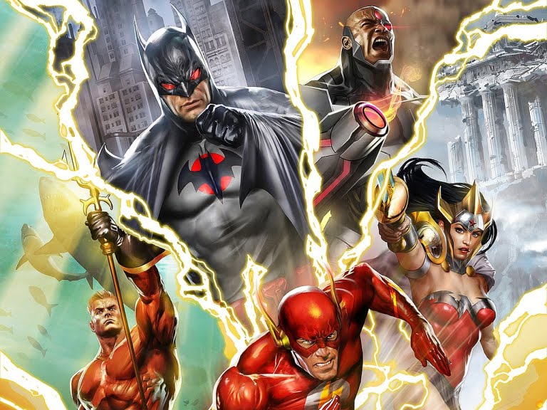 The original Flashpoint arc told a story of death and destruction. Pic courtesy: thecomicvault.com