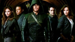 Image of Arrowverse characters