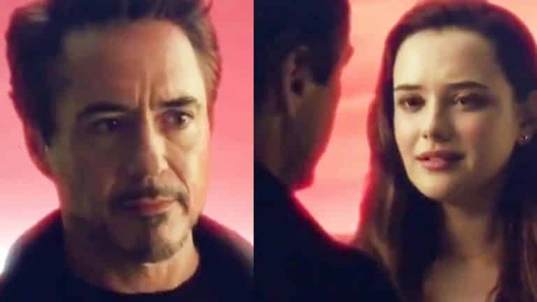 In the deleted scene Tony Stark talks with his adult daughter. Pic courtesy: cinemablend.com