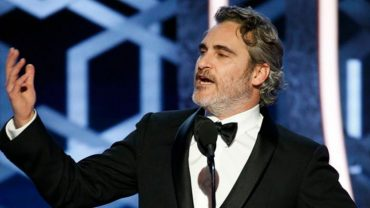 Joaquin Pheonix and the censored award speech