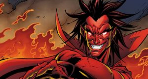 Mephisto from the Marvel's comicverse