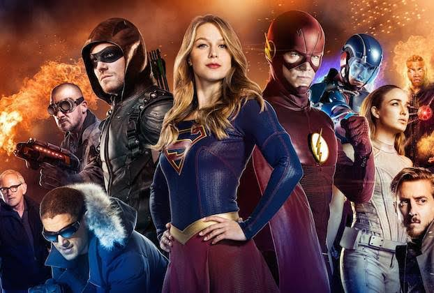 Arrowverse finally has its own Justice League and we can't keep calm. Pic courtesy: tvline.com