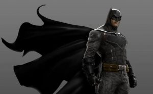 Image of the new batsuit
