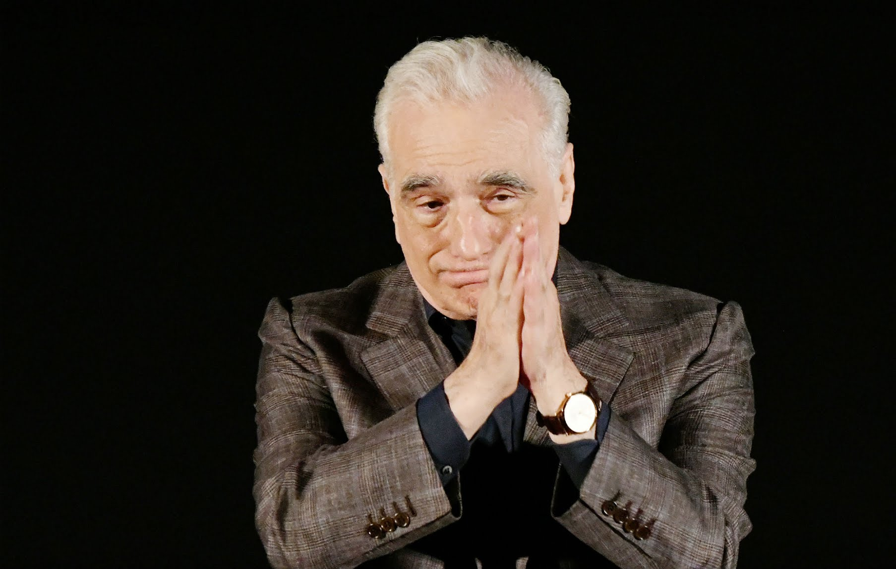 Martin Scorsese invited more controversy by telling people to not watch the movie on their phones. Pic courtesy: nme.com