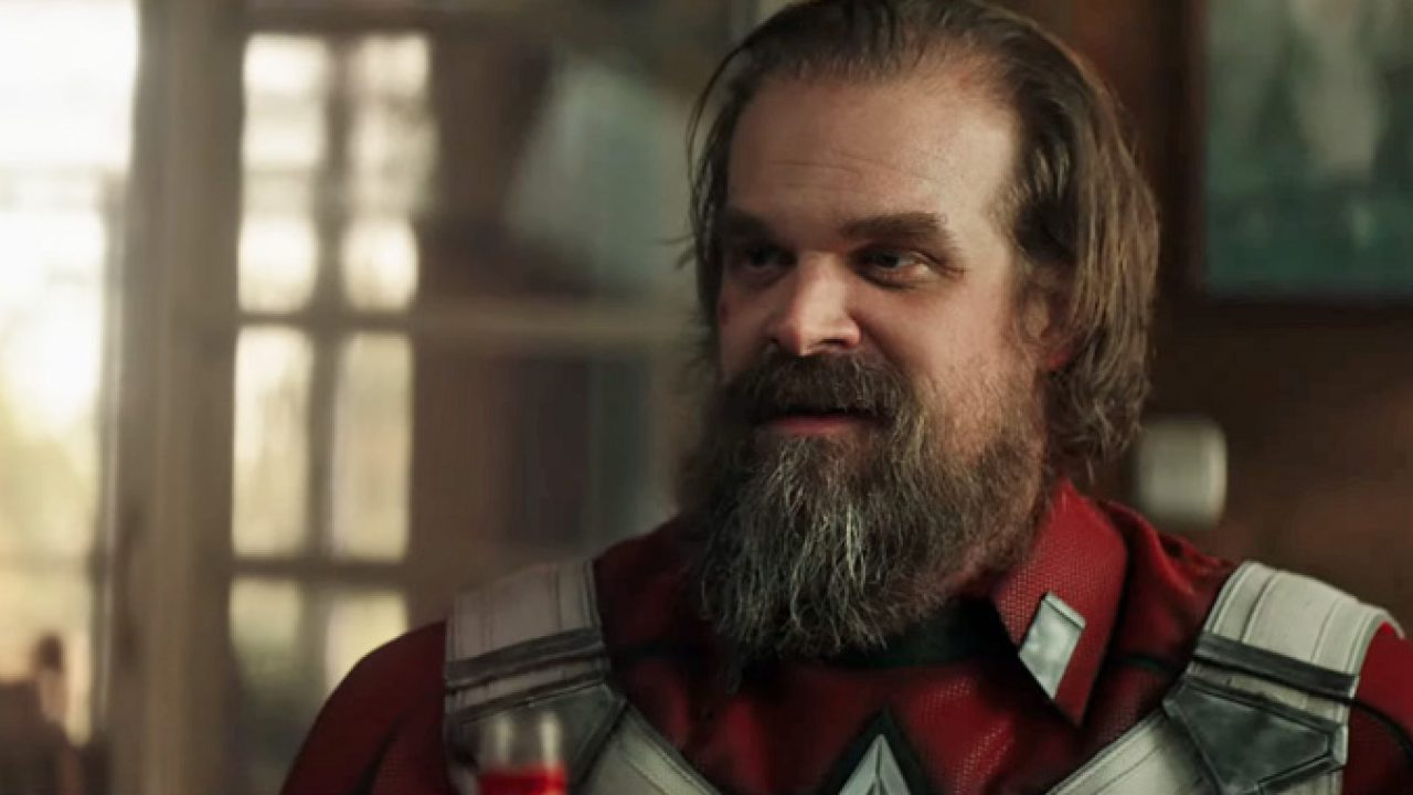 David Harbour Labels 'Red Guardian'