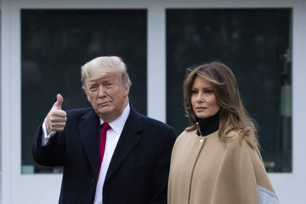 According to Melania and Donald Trump, their marriage is perfect