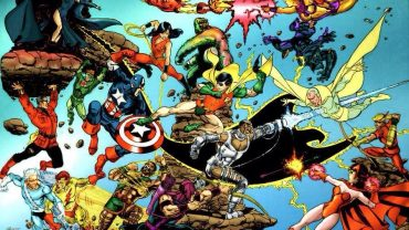 Avengers' Catchphrases being shaded by Teen Titans?