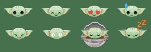 Baby Yoda- Emoji Blitz