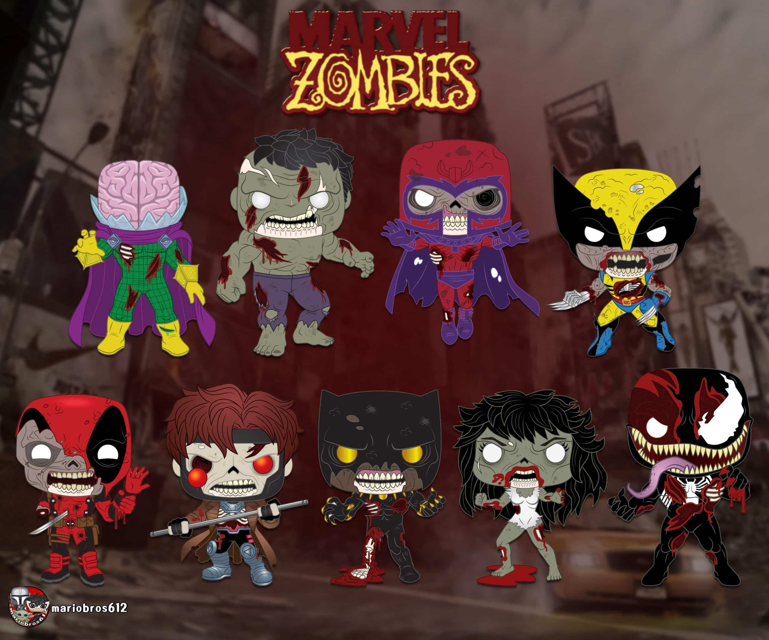 Marvel Zombies Funko Pop! Figures