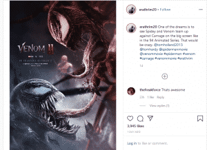 Venom 2 Teaser gives a glimpse of the Symbiotic Showdown
