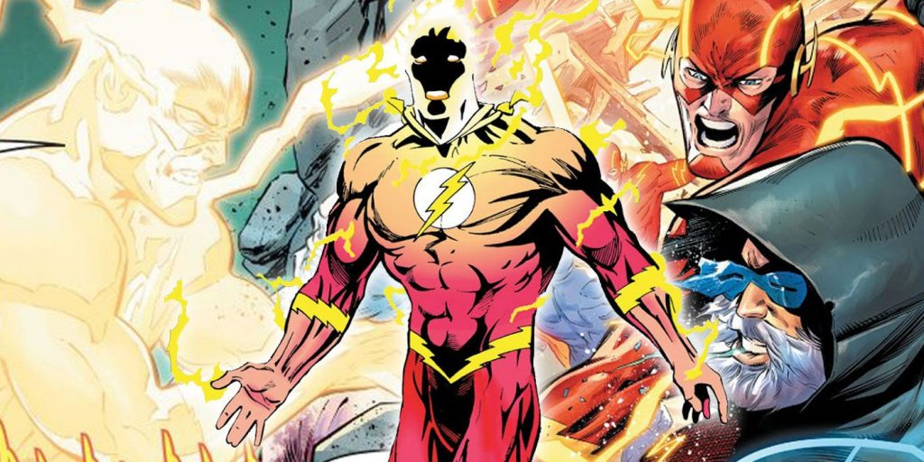 WALLY WEST SPEEDS BACK INTO CENTRAL CITY