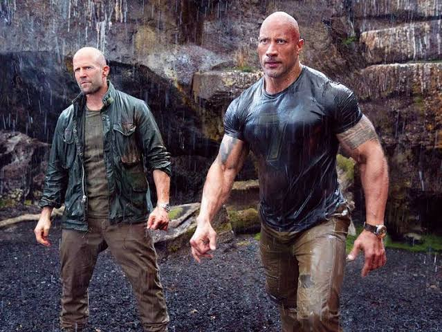 Johnson thanked Vin Diesel for producing Hobbs and Shaw. Pic courtesy: gulfnews.com