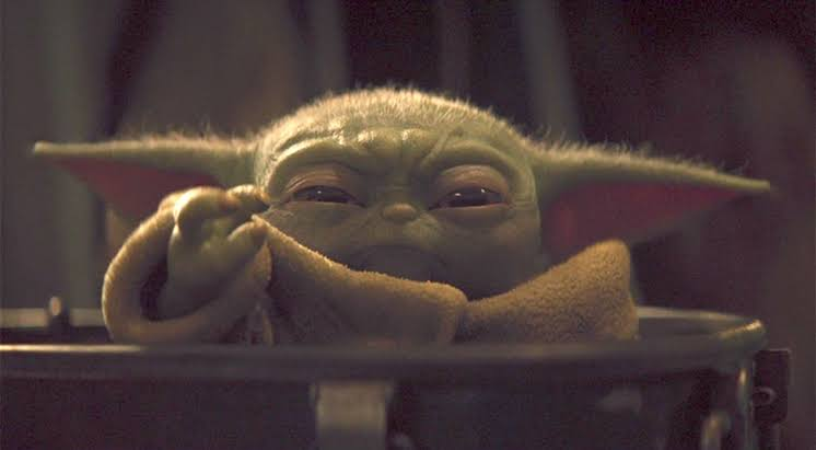 Baby Yoda Life Size Figure