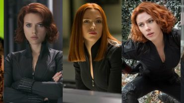 Natasha Romanoff gets a new haircut