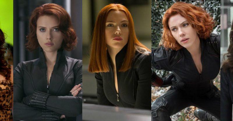 Natasha Romanoff gets a new haircut