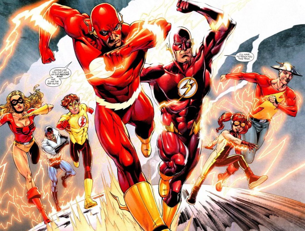 DISCOVERER OF SPEED FORCE
